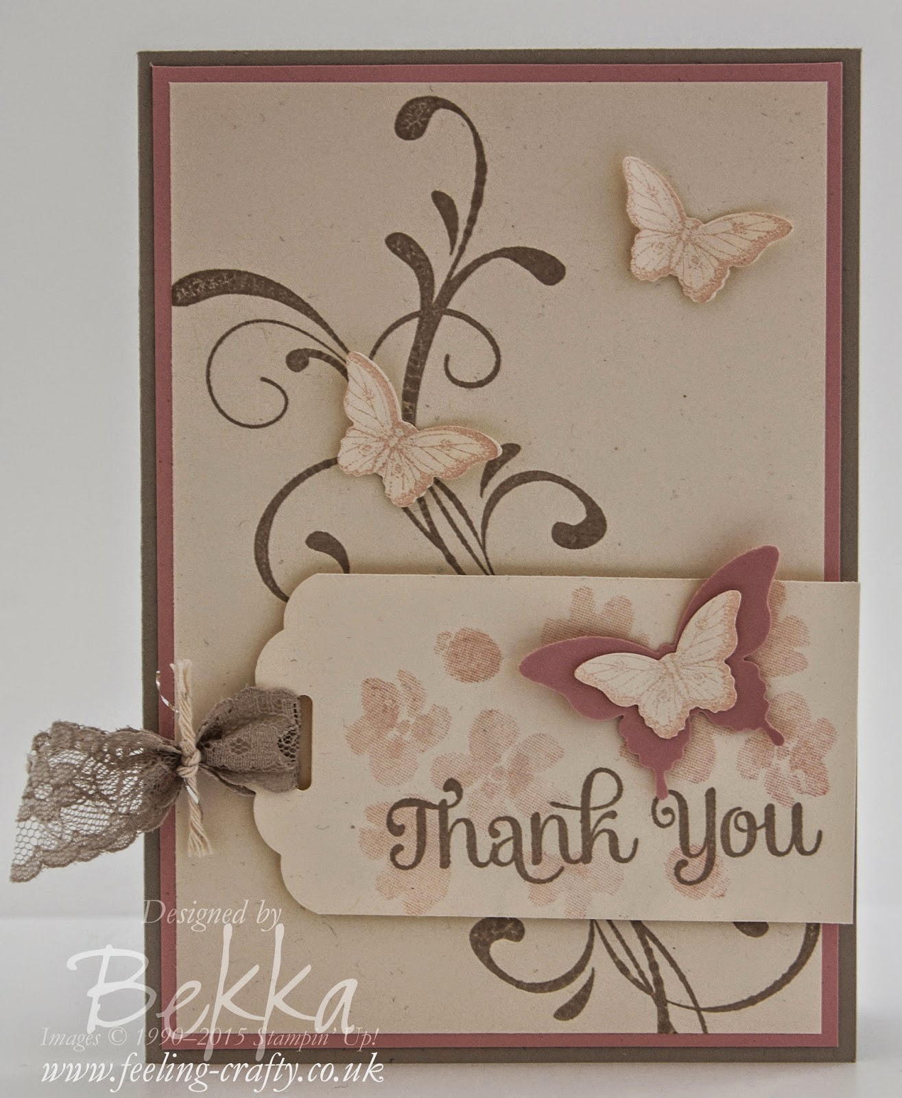 Vintage Style Thank You Card - Check the details here