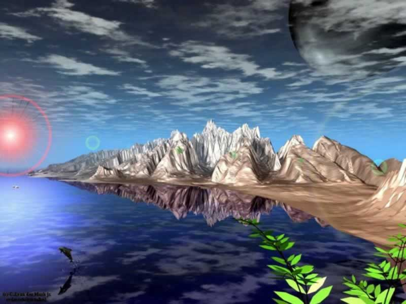 Collection Of 11 Nature Wallpaper 3D Art