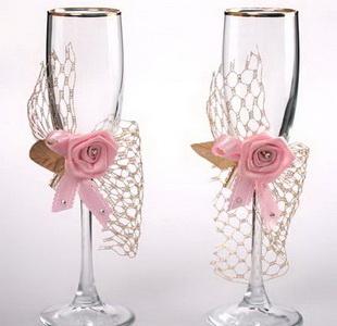 Como decorar copas para boda lodijoella - Manualidades para una boda ...