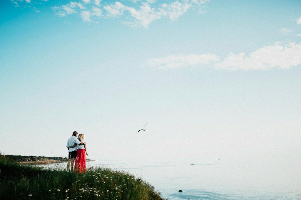 Förlovningsfotografering i Varberg