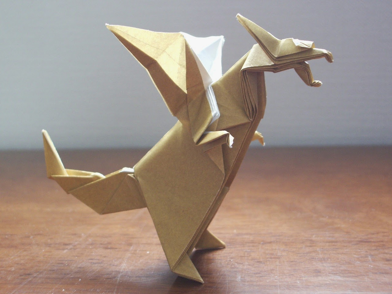 Craft ideas and easy crafts easy origami dragonfly for kids jeuxipadfo Image collections