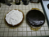 March: Chocolate-Peanut Butter Pie and Joe's Stone Crab Key Lime Pie