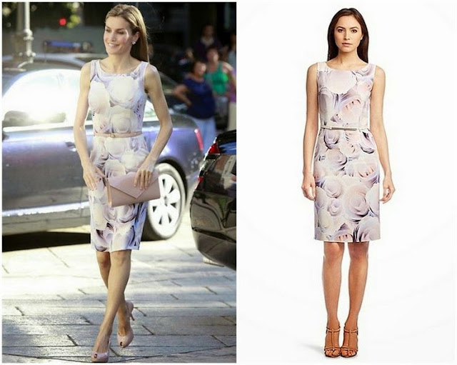 Queen Letizia in Hugo Boss