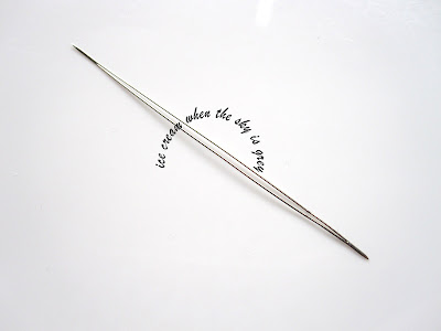 DIY Wine Glass Charms 2.125inch Big Eye Needle