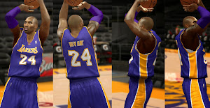 NBA 2k14 All LA Lakers Jersey Patch Pack