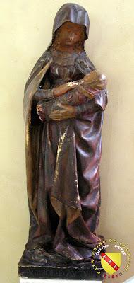 Bulligny - Église de la Nativité-de-la-Vierge - Vierge d'Autun