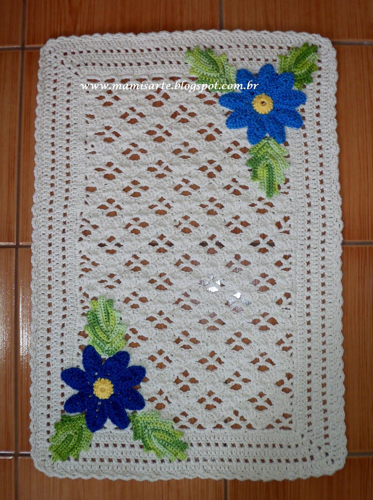 Tapete Margarida Vdeos Tapete De Croch Com Flor Margarida By Magia