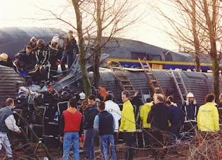 Trein ontsporing 1992 Hoofddorp