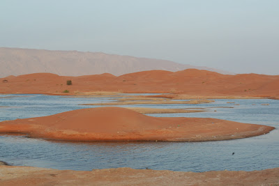 Zakhe Lake or tilapia lake , Al ain