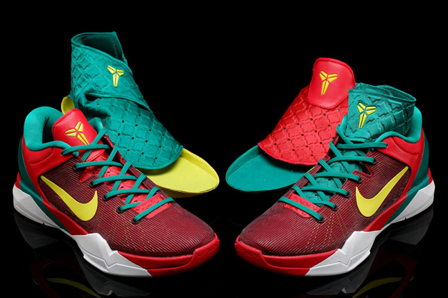 kobe 7 dragon shoes embroidered