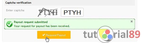 Cara mudah po (payout) di PTCircle