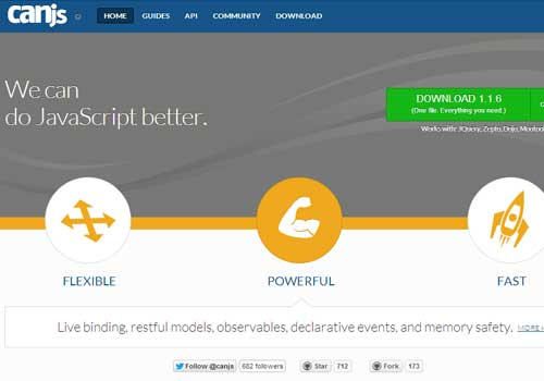 CanJs ~ 43 Useful and Time Saving Web Development Kits and Frameworks