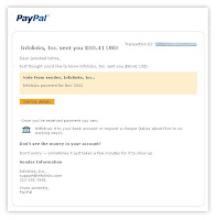 infolink payment proof