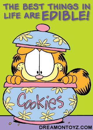Garfield Cookie Jar Interesting FREE Cartoon Graphics Pics Gifs Photographs Garfield Pictures