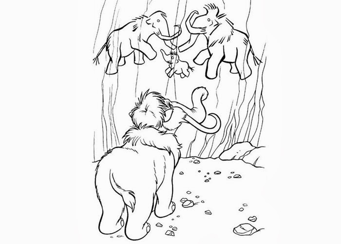 Ice Age Peaches coloring pages | Free Coloring Pages and Coloring ...