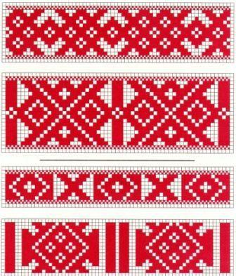 Кубанский орнамент вышивка