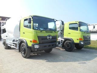Jual Truck Mixer Hino