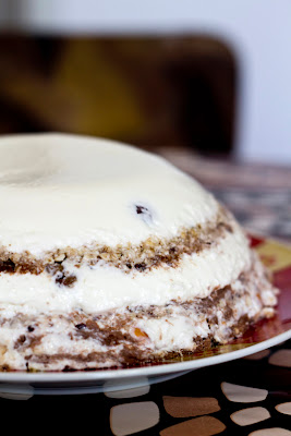 желирана мюсли торта