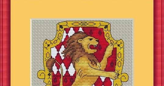 Схема вышивка гриффиндор