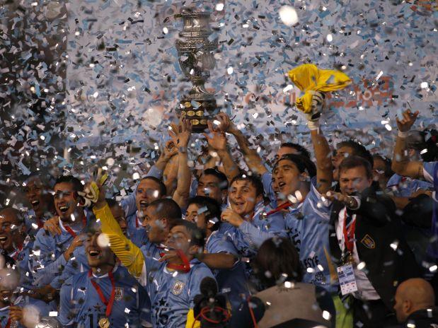 Uruguai Campeão da Copa América 2011