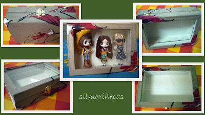 forrar caja para muñecas-