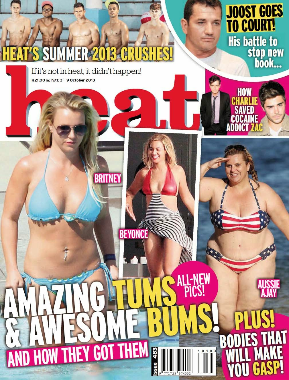 Gemma Collins, June Shannon, Mary J Blige and Ajay Rochester HQ Pictures Heat South Africa Magazine Photoshoot February 2014