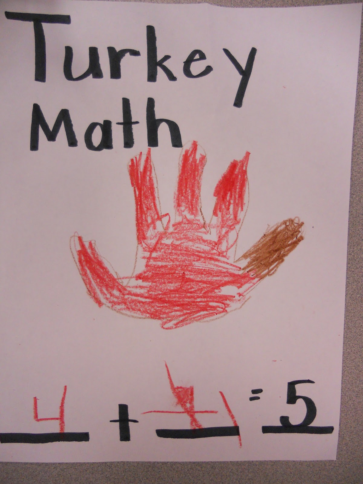 Five little turkeys song lyrics