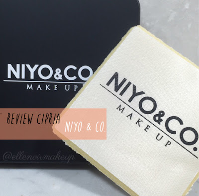 Review Cipria Niyo & Co. ElleNoirMakeUp blog
