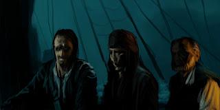 PiratasDelCaribeArt -Throw Storyboards
