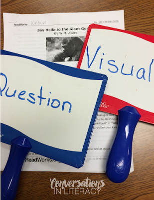 Questioning and Visualizing what you read