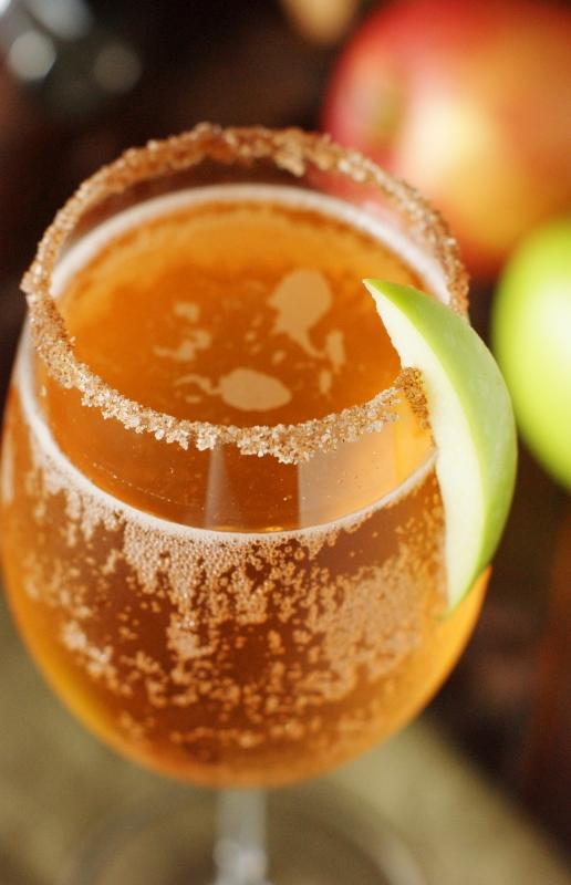 Sparkling Apple Cocktail Recipe — Dishmaps