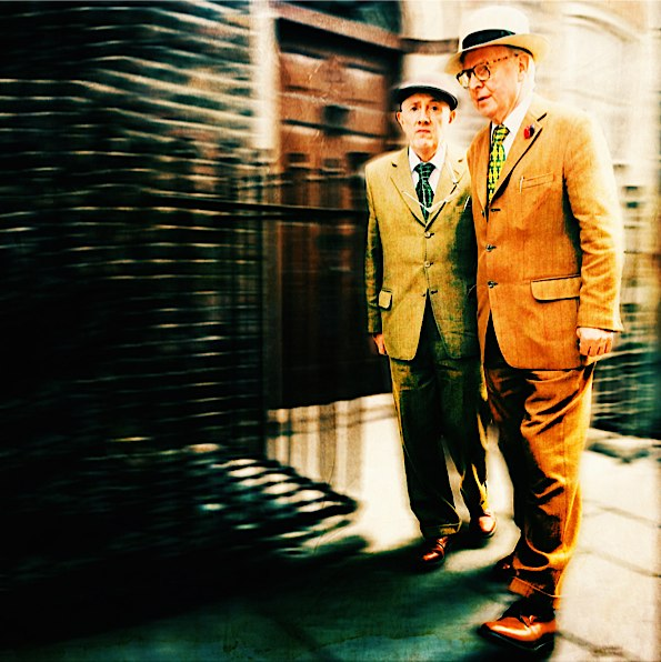 "Gilbert and George © Vivi ""Veevs"" Hanson"