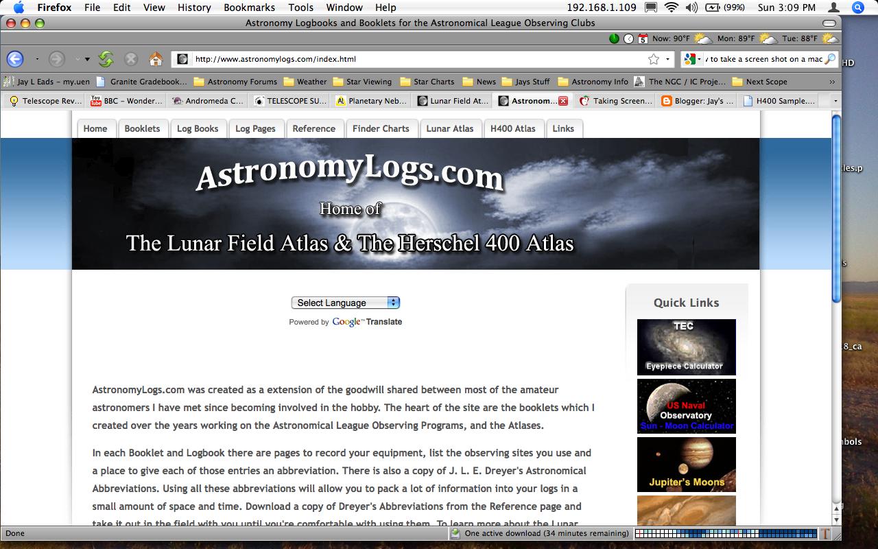 Amateur blog site