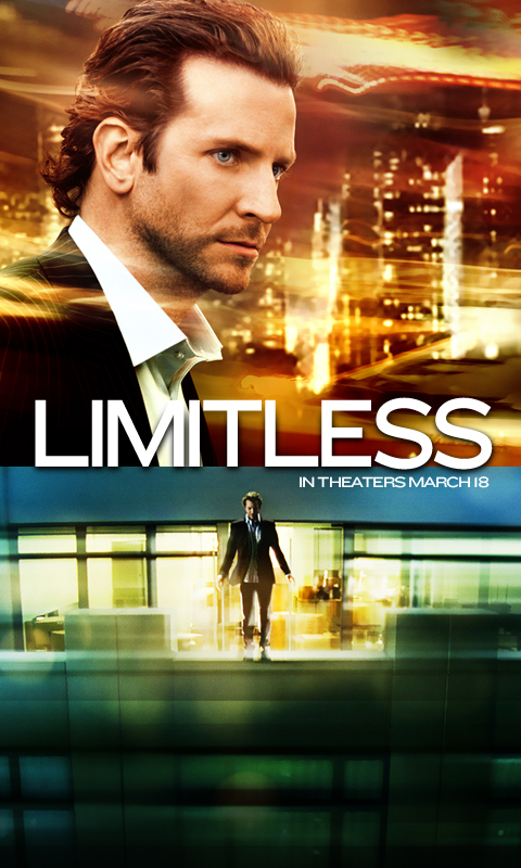 movie on limitless Watch the movie trailer for limitless (2011) directed by neil burger and starring robert de niro, bradley cooper, abbie cornish and anna friel a copywriter discovers a top-secret drug which bestows him with super human abilities as his usage begins to change his life, he begins to consider the drug's shadowy origins meanwhile, a group of.