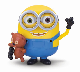 TOYS : JUGUETES - MINIONS  Bob parlanchín y su Teddy Bear  Minions Bob Interacts with Teddy Bear  Muñeco Interactivo - Figura con osito - oso  Producto Oficial Película 2015   Mondo 31006   A partir de 4 años  Comprar en Amazon España