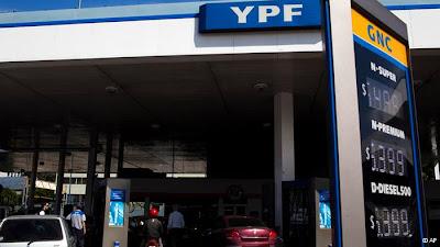 União Europeia condena expropriação de petrolífera espanhola na Argentina