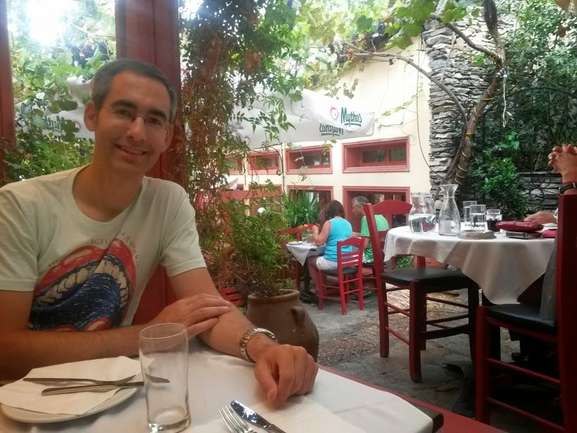 Plaka district in Athens