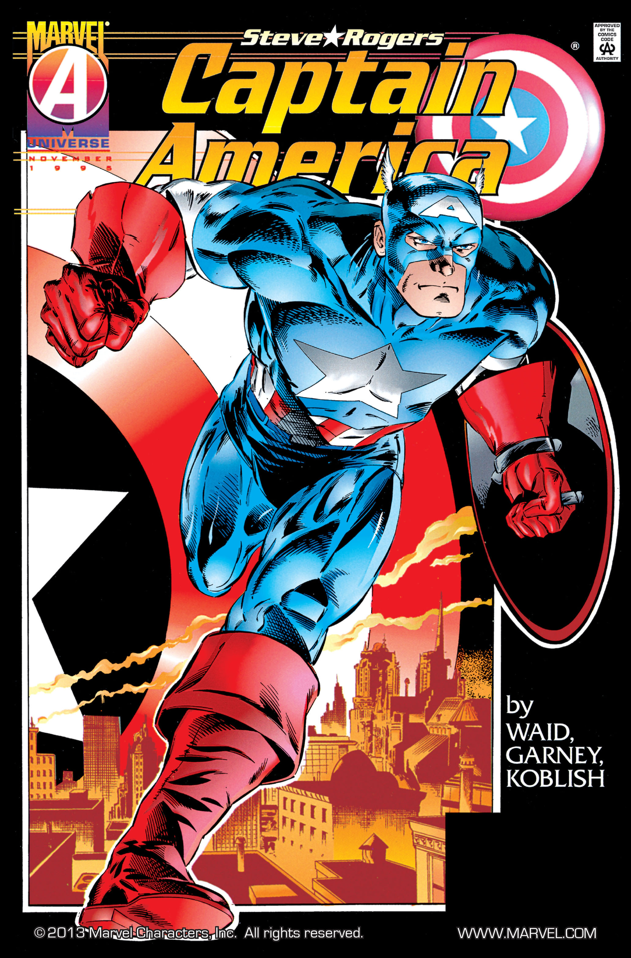 Captain America (1968) Issue #445 #399 - English 1