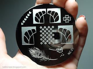 Nailz Craze stamping plate NC01