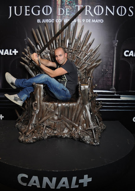 El secreto del acero el trono de hierro en bilbao - Trono de hierro ...