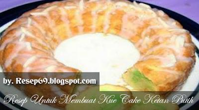 Resep Kue Cake Ketan Putih