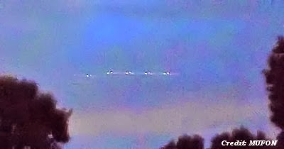 UFOs Photographed North of Houston 8-20-13