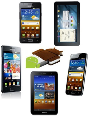 Smartphones that getting Android Icecream sandwich Updates in 2012