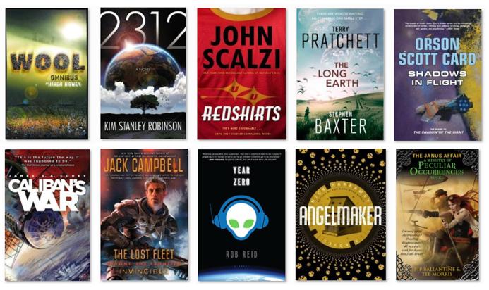 Good science fiction books?