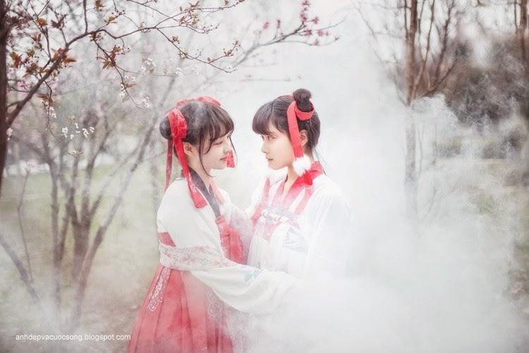 Thiếu nữ Hàn Quốc xinh đẹp với mùa xuân 3