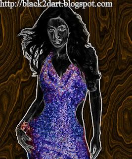 Bollywood Actress Katrina Kaif Digital Sketches
