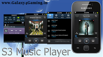 S3 temático Stock Music Player E ICalculator para Galaxy Y