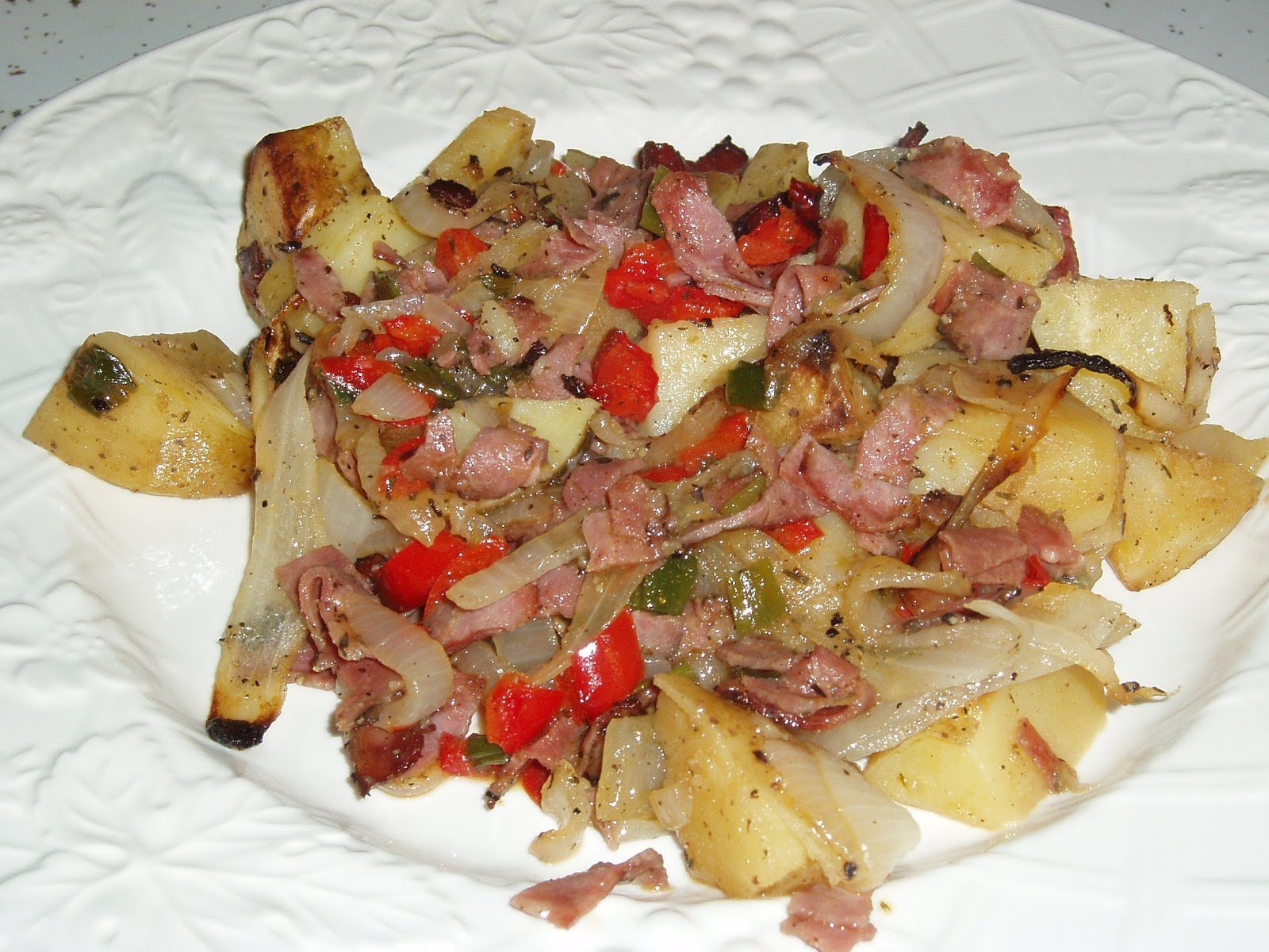 What's for Dinner?: Pastrami Hash or What Is It?