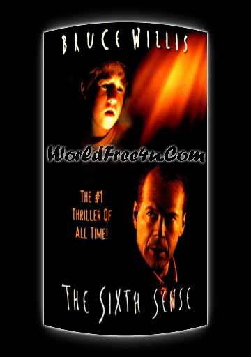 Poster Of The Sixth Sense (1999) In Hindi English Dual Audio 300MB Compressed Small Size Pc Movie Free Download Only At worldfree4u.com