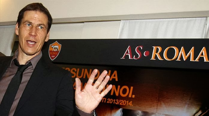Rudi Garcia Record 10 winning streak AS Roma